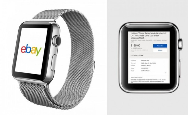 eBay app- apple watch app- online marketplaces