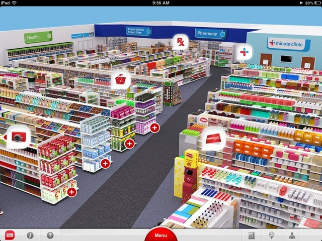 CVS Pharmacy - virtual reality shopping – ecommerce trends for online businesses