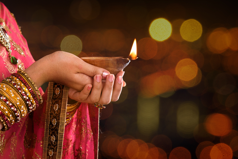 Diwali Hindu festival – global holidays, international shipping and selling- online businesses