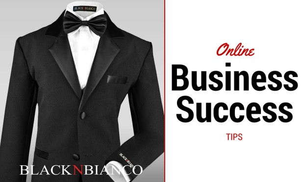 Black N Bianco suit - small online business success tips