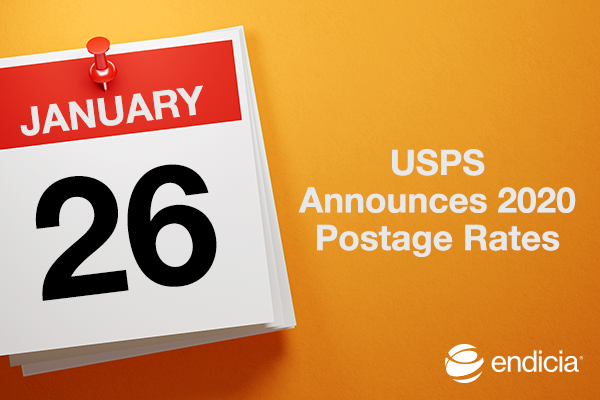 Usps Proposes 2020 Rates Online Shipping Blog Endicia